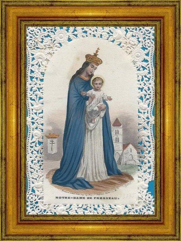 """Résultat de recherche d'images pour """"Icône de Notre-Dame de Fresneau"""""""
